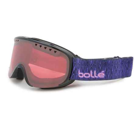 Bolle Scarlett Snowsport Goggles - Mirror Lens (For Women) in Shiny Black/Purple Wood/Vermillion Gun - Closeouts