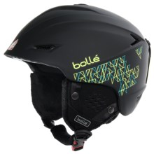 Bolle Sharp Ski Helmet in Soft Black Mosaic - Closeouts