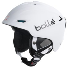 Bolle Sharp Ski Helmet in Soft White/Blue - Closeouts