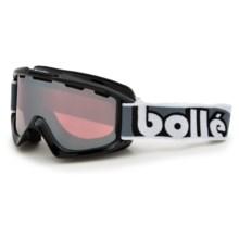 Bolle SMU Ski Goggles in Shiny Black/Vermillon Gun - Closeouts