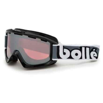 Bolle SMU Ski Goggles in Shiny Black/Vermillon Gun - Closeouts