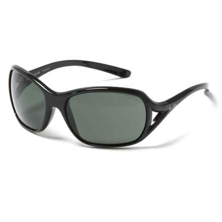 Bolle Solden Sunglasses - Polarized in Shiny Black/Oleo Af - Closeouts
