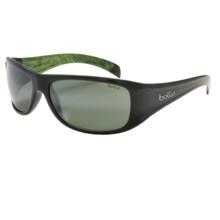 Bolle Sonar Sunglasses - Polarized, True Neutral Smoke Lenses in Shiny Gunmetal/Anise/Tns Gun Oleo Af - Closeouts