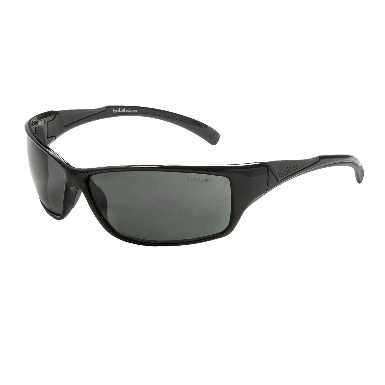 Bolle Recoil Shiny Black Polarized Sunglasses - Fuzzbeed ...