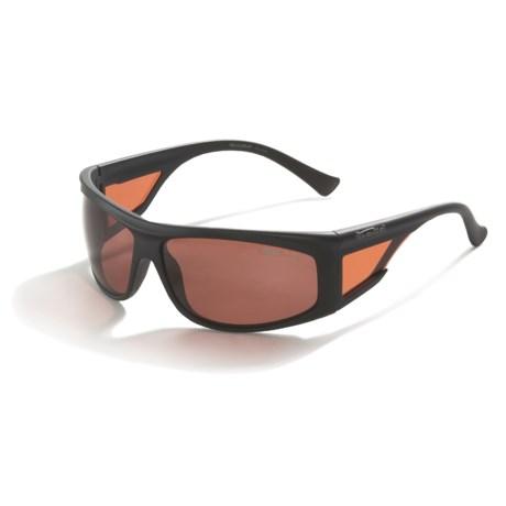 Bolle Spinner Sport Sunglasses - Polarized  in Satin Black W/ Sandstone