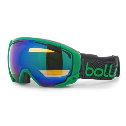 Bolle Supreme OTG Ski Goggles (For Men) in Matte Green Green/Emerald - Overstock
