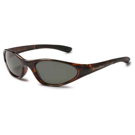 Bolle Swisher Sunglasses - Polarized in Dark Tortoise/True Neutral Smoke - Closeouts