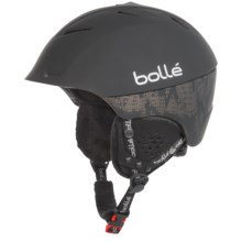 Bolle Synergy Ski Helmet - Bluetooth® in Soft Black - Closeouts
