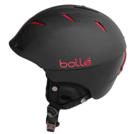 Bolle Synergy Ski Helmet in Matte Black - Closeouts