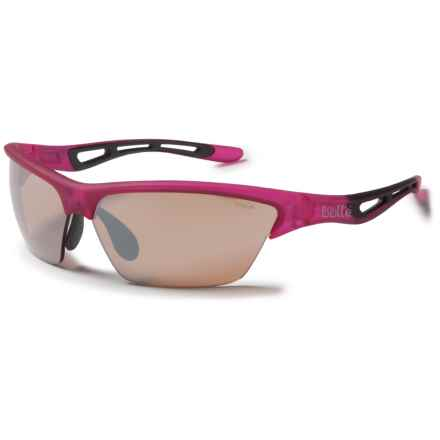 Bolle Tempest Sunglasses - Interchangeable Modulator Lenses in Satin Pink/V3golf Modulator - Closeouts