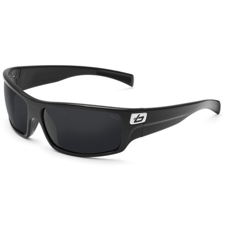 Bolle Tetra Sunglasses - Polarized in Shiny Black/Tns Ole/Af 8