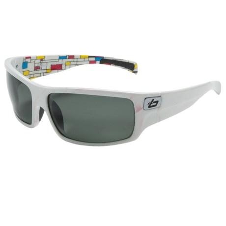 Bolle Tetra Sunglasses - Polarized in Shiny White/Tns 8