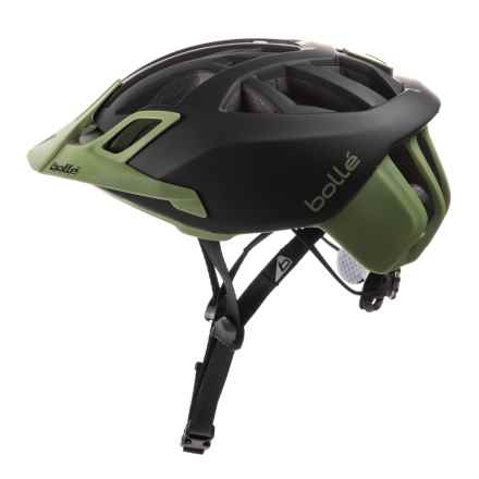 Bolle The One Mountain Bike Helmet (For Men and Women) in Black/Khaki - Closeouts