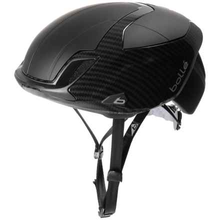 Bolle The One Premium Bike Helmet (For Men and Women) in Black Carbon - Closeouts