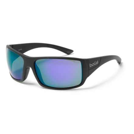Bolle Tigersnake Sunglasses in Matte Black/Blue Violet - Overstock
