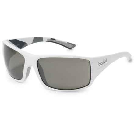 Bolle Tigersnake Sunglasses in Matte White Camo/Gun - Overstock