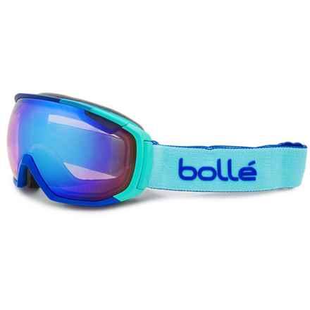 Bolle Tsar Ski Goggles - Photochromic Lens in Matte Blue/Aurora - Closeouts