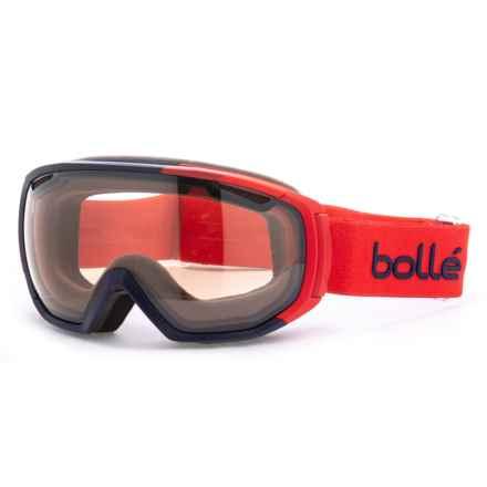 Bolle Tsar Ski Goggles - Photochromic Lens in Matte Red/Nxt Modulator Citrus/Gun - Closeouts