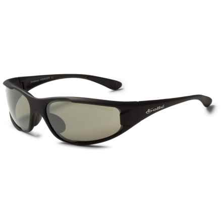 Bolle Turbulence Sunglasses - Mirrored in Matte Black/True Neutral Smoke Gunmetal Mirror - Closeouts