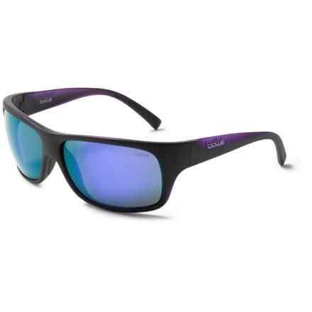 Bolle Viper Sunglasses in Matte Black/Blue Violet - Closeouts