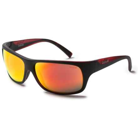 Bolle Viper Sunglasses in Matte Black/Red Line/Tns Fire - Overstock