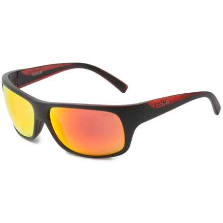 Bolle Viper Sunglasses in Matte Black/Red - Overstock