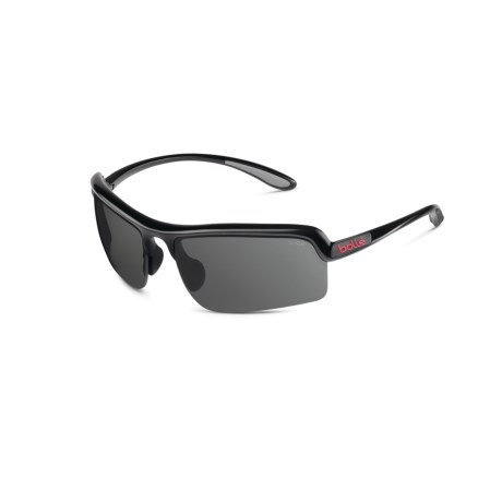 Bolle Vitesse Sunglasses in Shiny Black/Tns