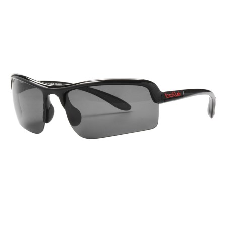 Bolle Vitesse Sunglasses - Polarized in Shiny Black/Tns