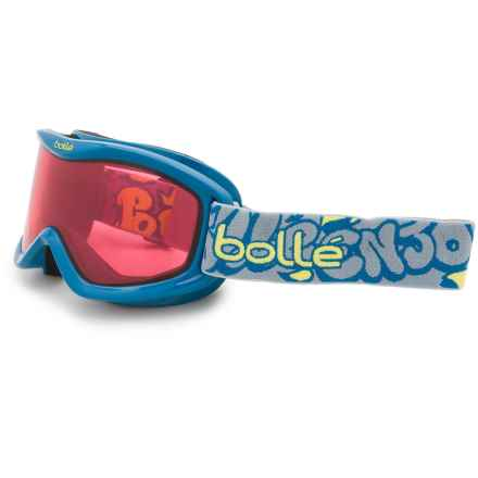 Bolle Volt Snowsport Goggles - Mirror Lens (For Kids) in Blue Graffiti/Vermillon - Closeouts