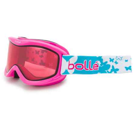 Bolle Volt Snowsport Goggles - Mirror Lens (For Kids) in Pink Butterfly/Vermillon - Closeouts