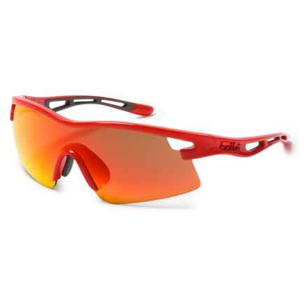 Bolle Vortex AF Base Sunglasses in Red/Tns Fire Oleo - Overstock