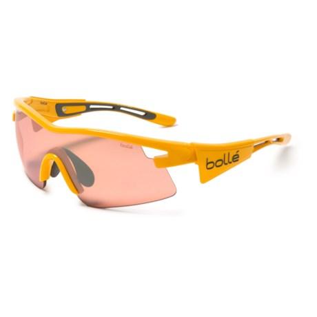 Bolle Vortex AF Sunglasses - Photochromic in Yellow/Tdf Rose Gun Oleo