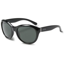 Bolle Winnie Sunglasses (For Women) in Shiny Black/True Neutral Smoke - Closeouts