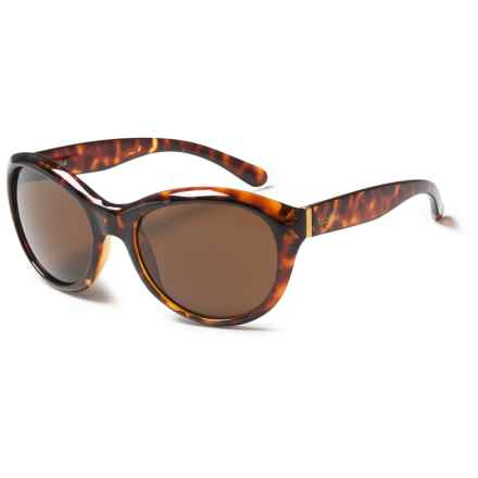 Bolle Winnie Sunglasses (For Women) in Shiny Tortoise/True Light Brown - Closeouts