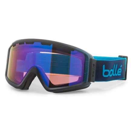 Bolle Z5 OTG Ski Goggles in Matte Navy /Blue Natura Aurora - Closeouts
