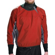 Bomber Gear Blitz Splash Top - Long Sleeve (For Men and Women) in Red - Closeouts