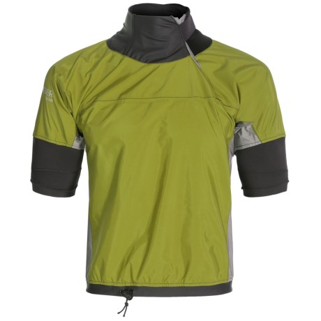 photo: Bomber Gear Blitz Short Sleeve Splash Top short sleeve paddle jacket