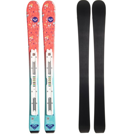 Image of Bonbon C5 Alpine Skis with Roxy C5 Bindings (For Youth)