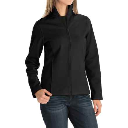 Bonded Fleece Jacket (For Women) in Black - 2nds