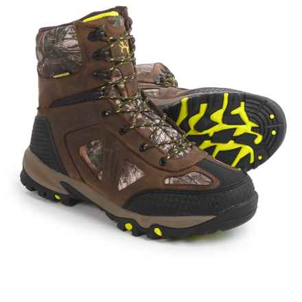 Bone Collector Badlands Thinsulate® Boots - Waterproof, Insulated (For Men) in Brown/Camo - Closeouts