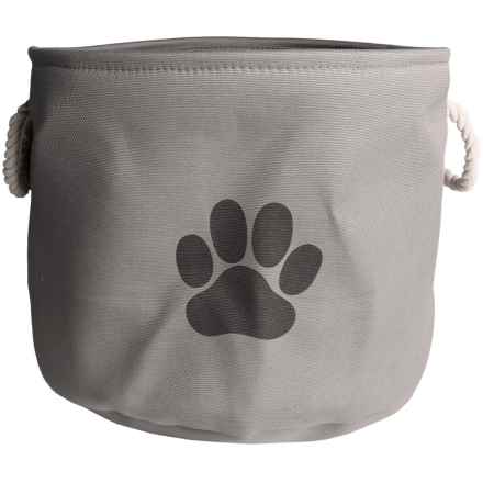 Bone Dry Round Toy Bin - Large in Gray - Closeouts