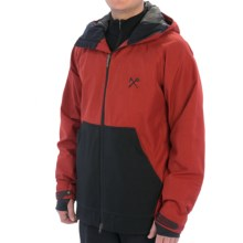 Bonfire Ambition Snowboard Jacket - Waterproof (For Men) in Red Rum-X/Black - Closeouts