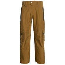 Bonfire Andover Snowboard Pants - Waterproof (For Men) in Driftwood - Closeouts