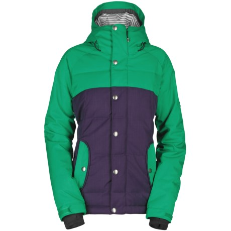 Bonfire Astro Down Jacket - 550 Fill Power (For Women) in Plum
