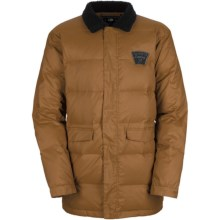 Bonfire Belmont Down Snowboard Jacket - 450 Fill Power (For Men) in Driftwood - Closeouts