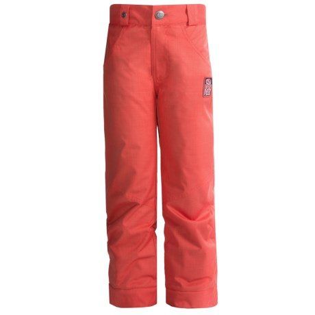 Bonfire Derby Pants - Insulated (For Little and Big Kids) in Tango