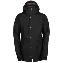 Bonfire Fireman Snowboard Parka - Waterproof, Insulated (For Men) in Black - Closeouts