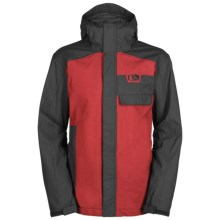 Bonfire Kenton Snowboard Jacket - Insulated (For Men) in Black - Closeouts