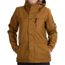 Bonfire Madison Snowboard Jacket - Waterproof , Insulated (For Women) in Driftwood - Closeouts