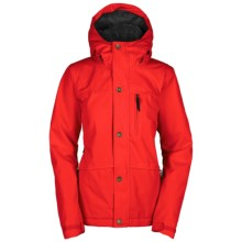 Bonfire Madison Snowboard Jacket - Waterproof , Insulated (For Women) in Poppy - Closeouts